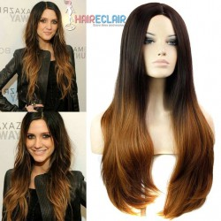 Perruque Cheveux Longs Ombré Hair