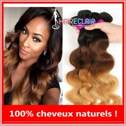 Tissages Brésiliens Ombré Hair 100 % Naturel