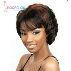 Perruque Cheveux Mi-Longs Bouclés Style Haireclair 1